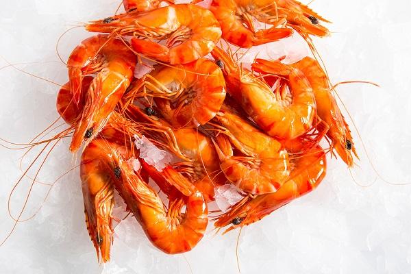 Small shrimp with head